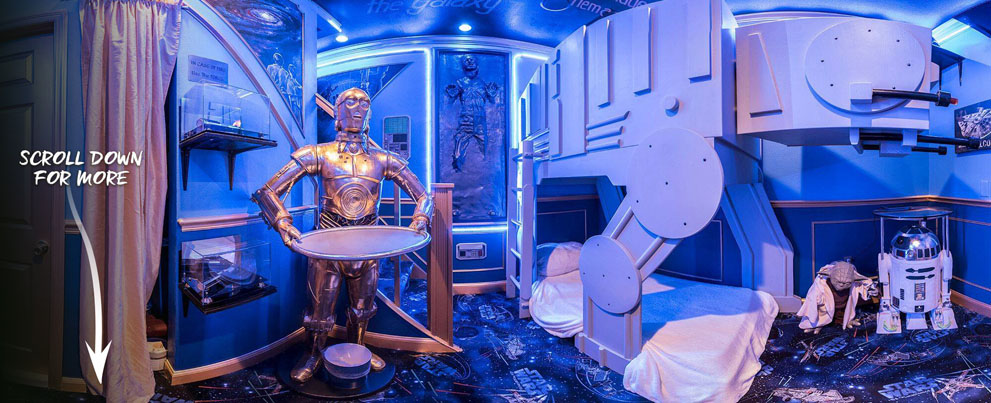 Star Wars Bedroom at The Ever After Estate (Orlando vacation rental)