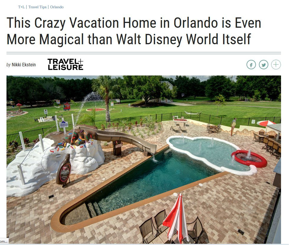 an Orlando vacation rental